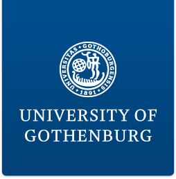 University of Gothenburg logotyp, link to start page